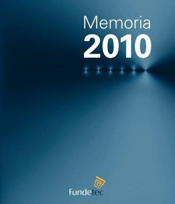 Memoria Fundetec 2010