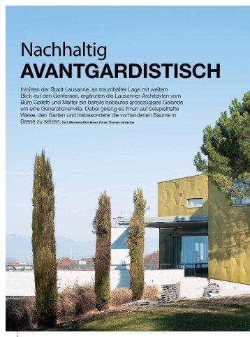 Nachhaltig avantgardistisch - galletti-matter