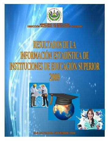 Resultados de la información Estadística de Instituciones de ...