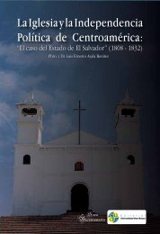 La Iglesia y la independencia política de Centroamérica: