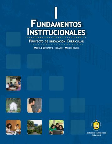 FUNDAMENTOS INSTITUCIONALES - Universidad Don Bosco