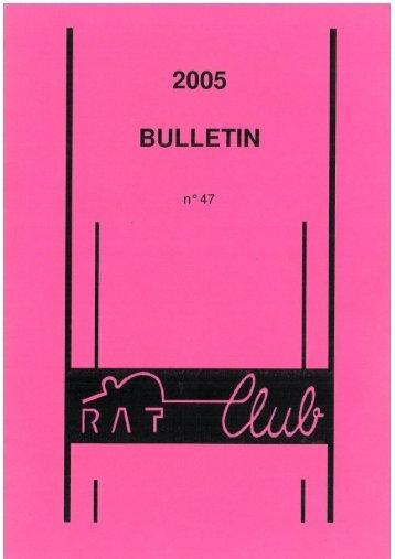 bulletin n° 47 - RATclub