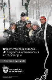 Profesional - Tecnológico de Monterrey