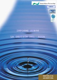 informe sobre la gestión del agua informe sobre la ... - Cap-Net