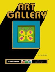 Art Gallery (Tandy).pdf - TRS-80 Color Computer Archive