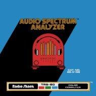 Audio Spectrum Analyzer (Tandy).pdf - TRS-80 Color Computer ...