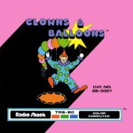 Clowns & Balloons (Tandy).pdf - TRS-80 Color Computer Archive