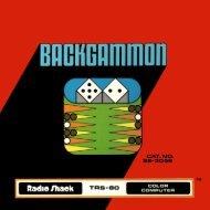 Backgammon (Tandy).pdf - TRS-80 Color Computer Archive