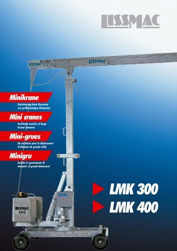 LMK 300 LMK 400 - Anzeve