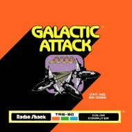 Galactic Attack (Tandy).pdf - TRS-80 Color Computer Archive