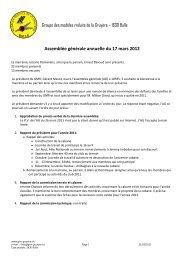 2012 - Modèles Réduits de la Gruyère