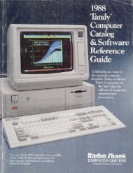 Tandy - TRS-80 Color Computer Archive