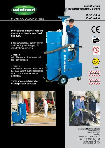Product Group Industrial Vacuum Cleaners IS-36 - 3 kW ... - easyFairs
