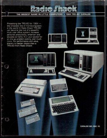 RSC-10 Computer Catalog (1984)(Radio Shack).pdf - TRS-80 Color ...