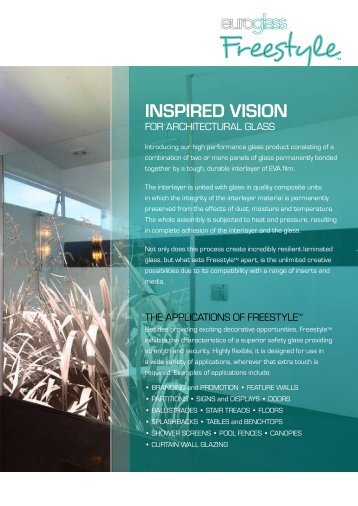 INSPIRED VISION - Euroglass