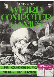 Weird Computer Games.pdf - TRS-80 Color Computer Archive