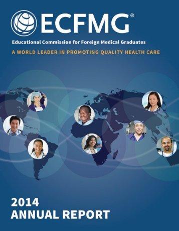 ECFMG-2014-annual-report