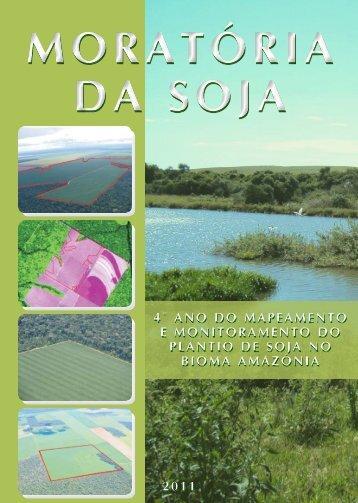 4° ano do mapeamento e monitoramento do plantio de soja no ...
