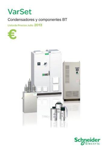 Lista de precios VarSet (PDF / 8.5 Mb) - Schneider Electric
