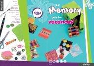 un jeu de memory pour les vacances - XICA loisirs