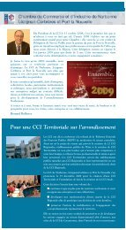 Eco-Consulaire - (CCI) de Narbonne, Lézignan-Corbières et Port la ...