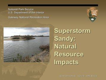 Superstorm Sandy: Natural Resource Impacts