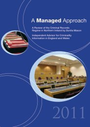 A Managed Approach - Department of Justice