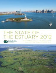 State of the Estuary report - New York-New Jersey Harbor Estuary ...