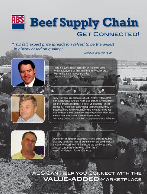 Beef Supply Chain - ABS Global, Inc