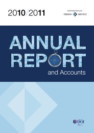 NI Prison Service Annual Report and Accounts 2010/11 (PDF 3689 ...