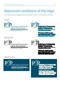 Guidelines for the use of the PCSP logo - Department of Justice - Page 5