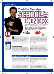 The Mike Saunders - Linux Ink