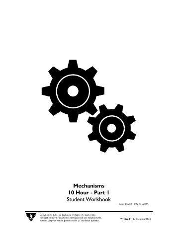 Mechanisms 10 Hour - Part 1 Student Workbook