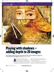 Playing with shadows – adding depth to 2D images - Linux Ink