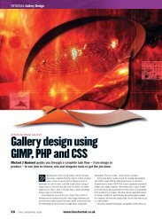 Gallery design using GIMP, PHP and CSS - Linux Ink