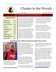 June 2013 Chatter - Townsite of Redwood Meadows