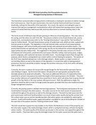 2013 MN State Envirothon Oral Presentation Scenario Managed ...