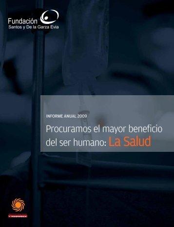 Informe Anual 2009 - Hospital San José Tec de Monterrey