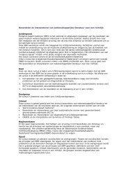 Beoordelen en interpreteren van wetenschappelijke literatuur voor ...