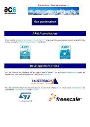 Partenaires: Nos partenaires - Ac6-formation