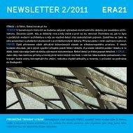 newsletter 2/2011 - Era21