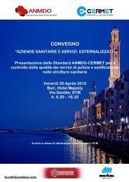 Convegno ANMDO-CERMET Bari - fareonline.it