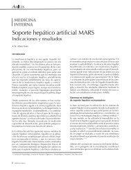 Soporte hepático artificial MARS. Indicaciones y resultados