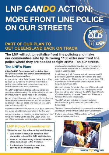 LNP CANDO ACTION: - Brisbane Times
