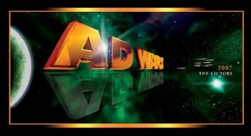 congratulations to the 2007 ad war winners