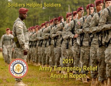 AER 2011 Annual Report - Fort Jackson MWR