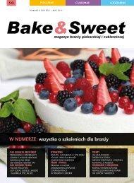 w numerze: wszystko o szkoleniach dla branży - Bake & Sweet
