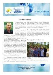 SCCH newsletter draft 4 (Read-Only) - Sunshine Coast Community ...