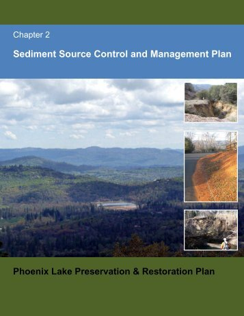 Chapter 2 Sediment Source Control and Management Plan