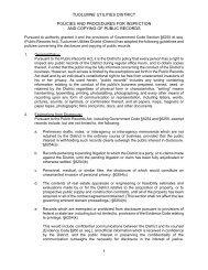 1 tuolumne utilities district policies and procedures for inspection ...
